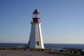 Click photo for more info about Point Riche Lighthouse